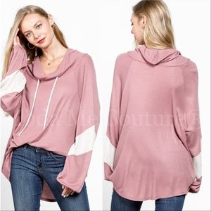 Time to get Comfy Top - Pink